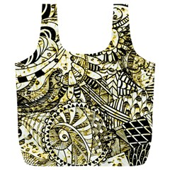 Zentangle Mix 1216a Full Print Recycle Bags (L)
