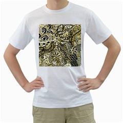 Zentangle Mix 1216a Men s T-Shirt (White)