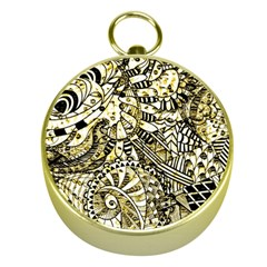 Zentangle Mix 1216a Gold Compasses