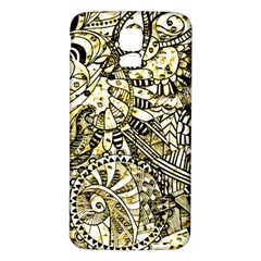 Zentangle Mix 1216a Samsung Galaxy S5 Back Case (White)