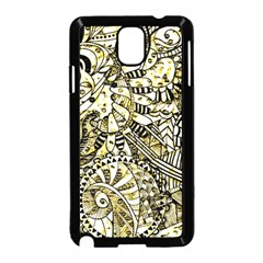 Zentangle Mix 1216a Samsung Galaxy Note 3 Neo Hardshell Case (Black)