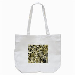 Zentangle Mix 1216a Tote Bag (White)