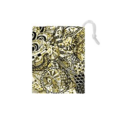Zentangle Mix 1216a Drawstring Pouches (Small)