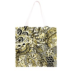 Zentangle Mix 1216a Grocery Light Tote Bag