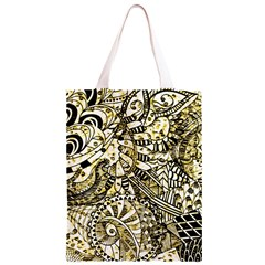 Zentangle Mix 1216a Classic Light Tote Bag