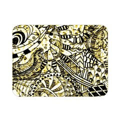 Zentangle Mix 1216a Double Sided Flano Blanket (Mini)