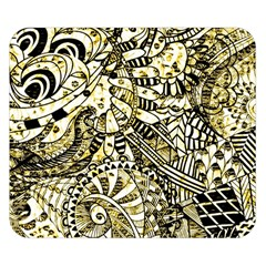 Zentangle Mix 1216a Double Sided Flano Blanket (Small)