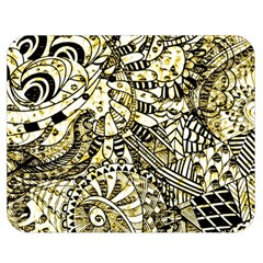 Zentangle Mix 1216a Double Sided Flano Blanket (Medium)