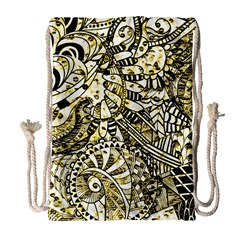 Zentangle Mix 1216a Drawstring Bag (Large)