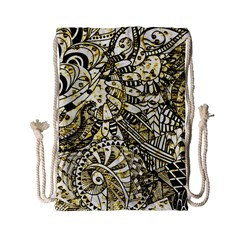 Zentangle Mix 1216a Drawstring Bag (Small)