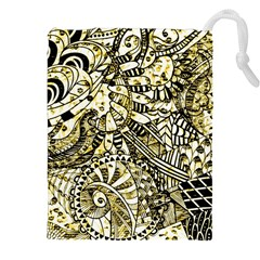 Zentangle Mix 1216a Drawstring Pouches (XXL)