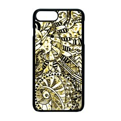 Zentangle Mix 1216a Apple Iphone 7 Plus Seamless Case (black)