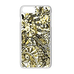 Zentangle Mix 1216a Apple iPhone 7 Plus White Seamless Case
