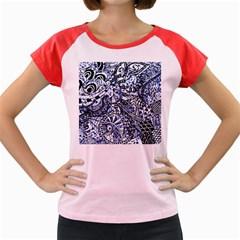 Zentangle Mix 1216b Women s Cap Sleeve T-Shirt