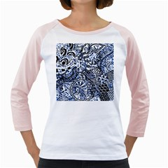 Zentangle Mix 1216b Girly Raglans