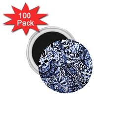 Zentangle Mix 1216b 1.75  Magnets (100 pack)