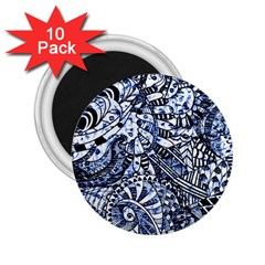 Zentangle Mix 1216b 2.25  Magnets (10 pack)