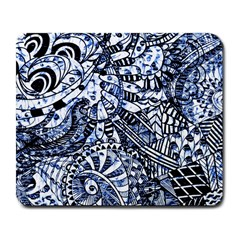 Zentangle Mix 1216b Large Mousepads