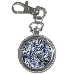 Zentangle Mix 1216b Key Chain Watches