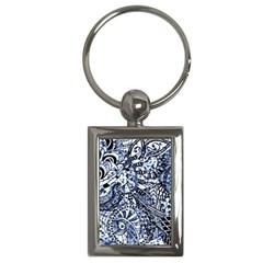 Zentangle Mix 1216b Key Chains (Rectangle)