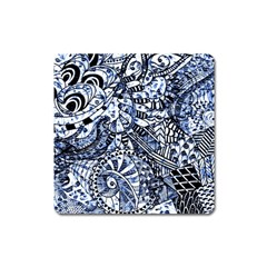 Zentangle Mix 1216b Square Magnet
