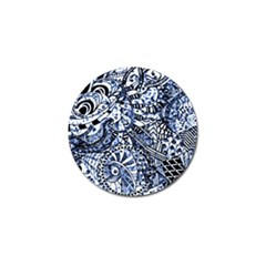 Zentangle Mix 1216b Golf Ball Marker (4 pack)
