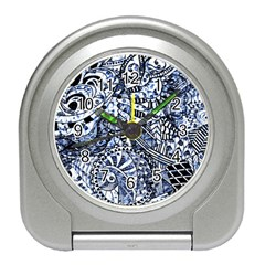 Zentangle Mix 1216b Travel Alarm Clocks