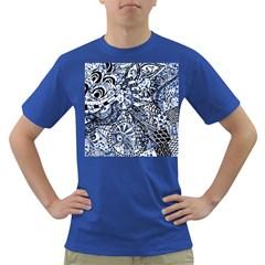 Zentangle Mix 1216b Dark T-Shirt