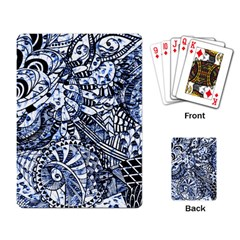 Zentangle Mix 1216b Playing Card