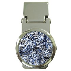 Zentangle Mix 1216b Money Clip Watches