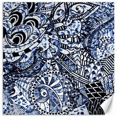 Zentangle Mix 1216b Canvas 16  x 16