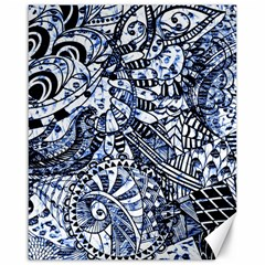 Zentangle Mix 1216b Canvas 16  x 20