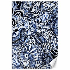 Zentangle Mix 1216b Canvas 20  x 30