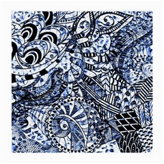 Zentangle Mix 1216b Medium Glasses Cloth (2-Side)