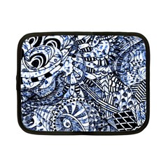 Zentangle Mix 1216b Netbook Case (Small)