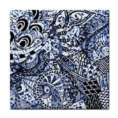 Zentangle Mix 1216b Face Towel