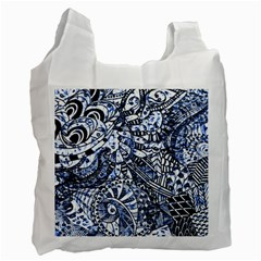 Zentangle Mix 1216b Recycle Bag (One Side)