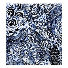 Zentangle Mix 1216b Shower Curtain 66  x 72  (Large)