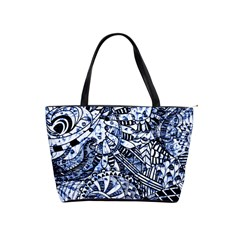 Zentangle Mix 1216b Shoulder Handbags