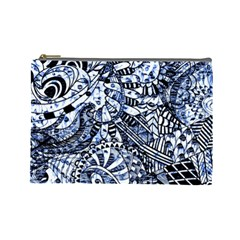 Zentangle Mix 1216b Cosmetic Bag (Large)