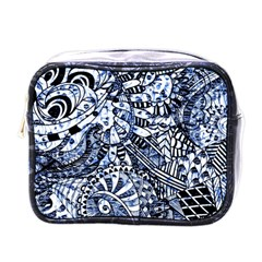Zentangle Mix 1216b Mini Toiletries Bags