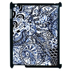 Zentangle Mix 1216b Apple iPad 2 Case (Black)