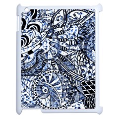 Zentangle Mix 1216b Apple iPad 2 Case (White)