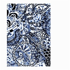 Zentangle Mix 1216b Small Garden Flag (Two Sides)