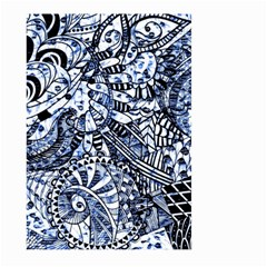 Zentangle Mix 1216b Large Garden Flag (Two Sides)