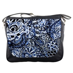 Zentangle Mix 1216b Messenger Bags