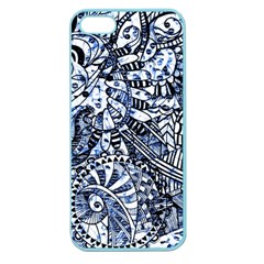 Zentangle Mix 1216b Apple Seamless iPhone 5 Case (Color)