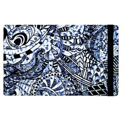 Zentangle Mix 1216b Apple iPad 3/4 Flip Case