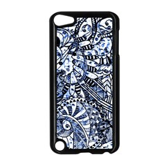 Zentangle Mix 1216b Apple iPod Touch 5 Case (Black)