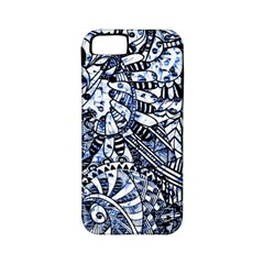 Zentangle Mix 1216b Apple iPhone 5 Classic Hardshell Case (PC+Silicone)